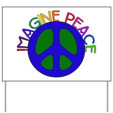Image Peace Yard Sign
