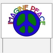 Image Peace Yard Sign