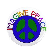 "Image Peace 3.5"" Button"