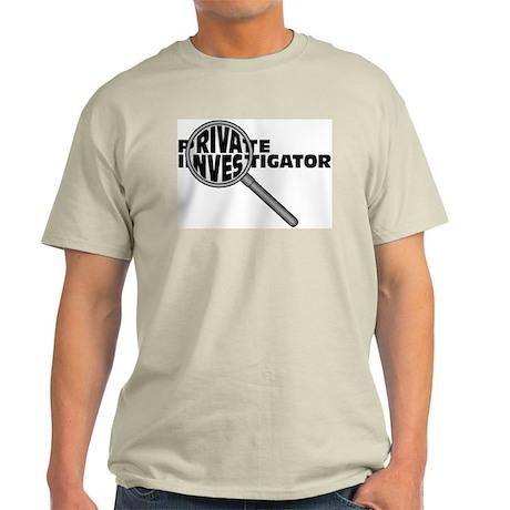 Private Investigator Ash Grey T-Shirt