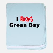 Green Bay.png baby blanket