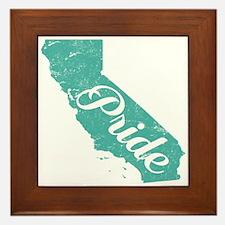 California Pride Framed Tile
