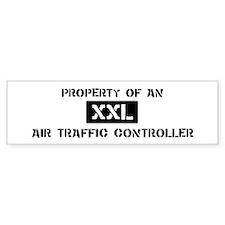 Property of: Air Traffic Cont Bumper Bumper Sticker