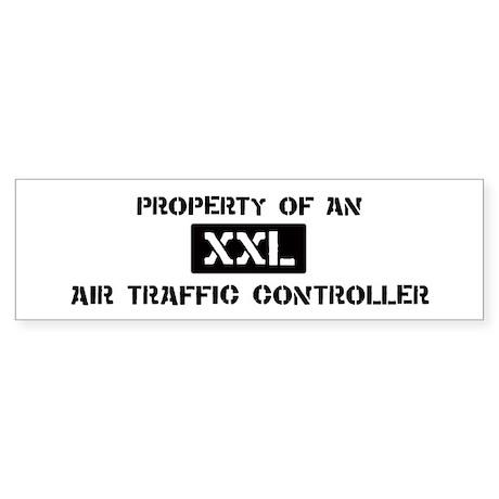 Property of: Air Traffic Cont Bumper Sticker