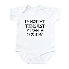 SANTA COSTUME Infant Bodysuit