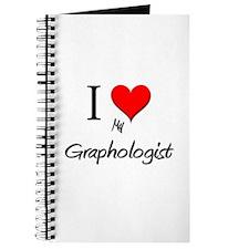 I Love My Graphologist Journal