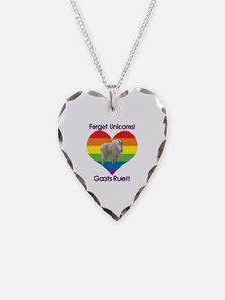 Cute Rainbow mountain Necklace