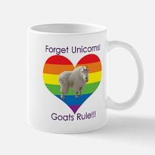 Forget Unicorns, Goats Rule! Mugs
