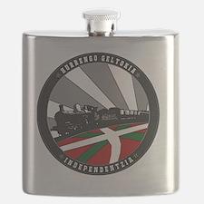 Unique Basque Flask