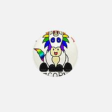Unique Unicorns and rainbows Mini Button (10 pack)