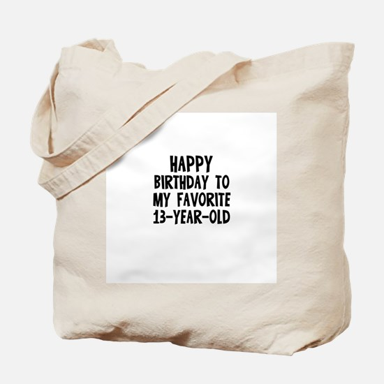 Happy Birthday To My Favorite Tote Bag