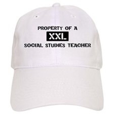 Property of: Social Studies T Baseball Cap