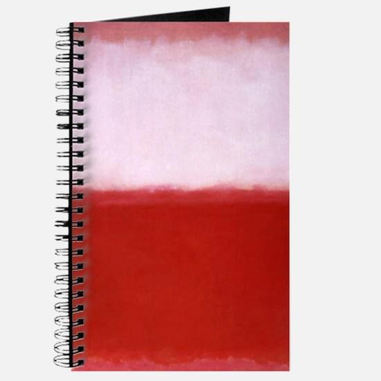 ROTHKO RED AND WHITE-BLEEDING HEART Journal