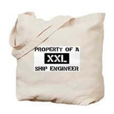 Property of: Ship Engineer Tote Bag