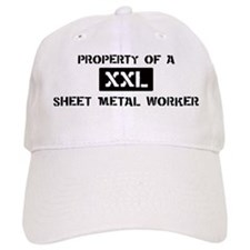 Property of: Sheet Metal Work Baseball Cap