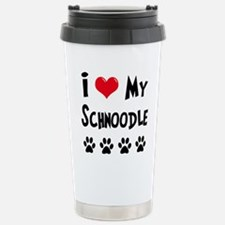 Cute Schnoodle Travel Mug