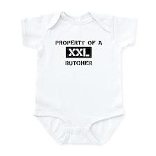 Property of: Butcher Infant Bodysuit
