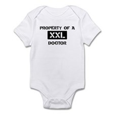 Property of: Doctor Infant Bodysuit