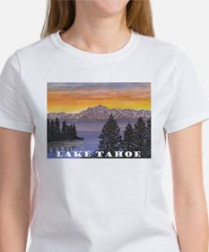 Mt. Tallac Lake Tahoe T-Shirt