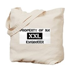 Property of: Engineer Tote Bag