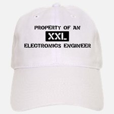 Property of: Electronics Engi Baseball Baseball Cap