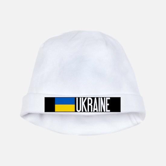 Ukraine: Ukrainian Flag & Ukraine baby hat