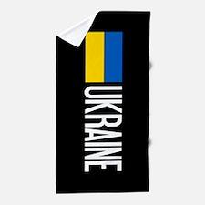 Ukraine: Ukrainian Flag & Ukraine Beach Towel