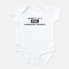 Property of: Biomedical Engin Infant Bodysuit