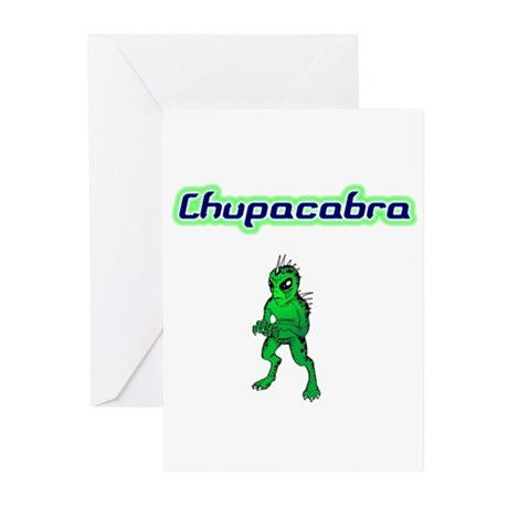 Chupac Greeting Cards (Pk of 20)