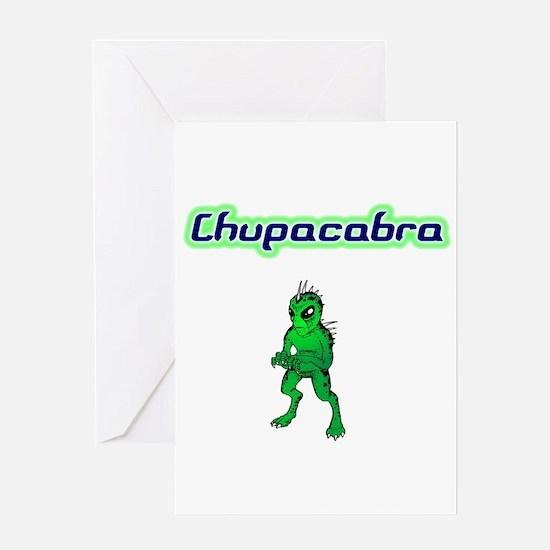 Chupac Greeting Card