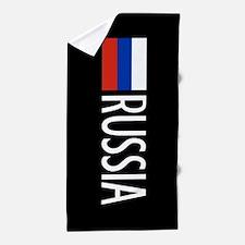 Russia: Russian Flag & Russia Beach Towel