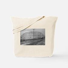 Yankee Stadium Baseball Field - Vintage Photo Tote