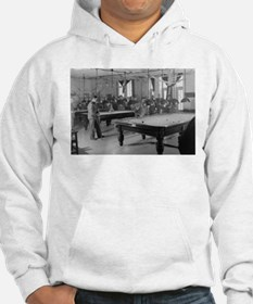 Billiards Room for Soldiers at the YMCA Hoodie