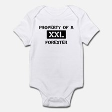 Property of: Forester Infant Bodysuit