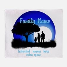 Happy Family Throw Blanket