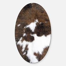 Animal skin decor Sticker (Oval)