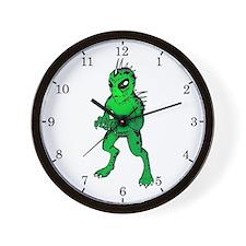 Chupacabras Wall Clock