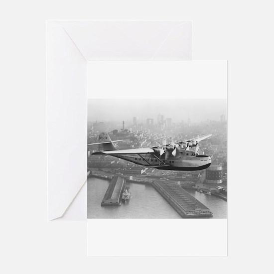 Pan American China Clipper & San Francisco Skyline