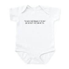 You Know Those Germans Infant Bodysuit