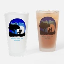 Happy Family Drinking Glass