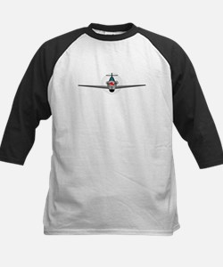 Old Style Fighter Aircraft Baseball Jersey