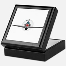 Old Style Fighter Aircraft Keepsake Box