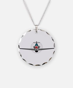 Old Style Fighter Aircraft Necklace