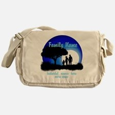 Happy Family Messenger Bag