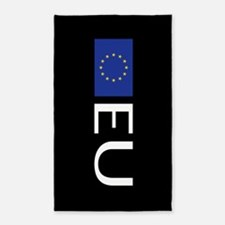 European Union: European Union Flag Area Rug