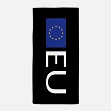 European Union: European Union Flag Beach Towel