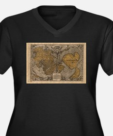 Ancient Map of The World (1531) Plus Size T-Shirt