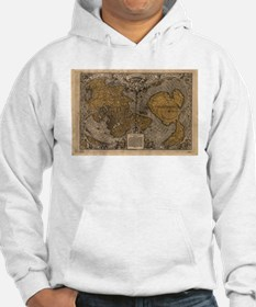 Ancient Map of The World (1531) Hoodie