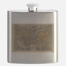 Ancient Map of The World (1531) Flask