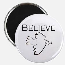 Believe in Peace Magnet